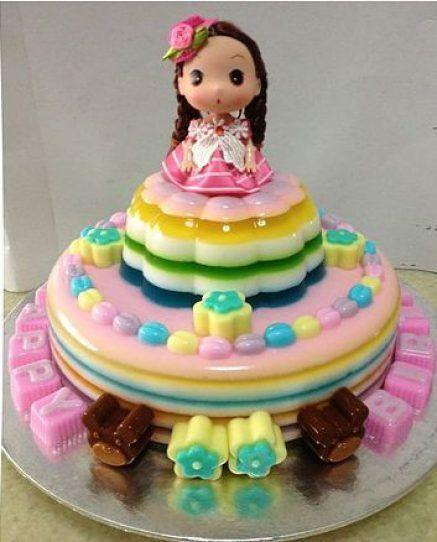 gelatina criativa princesa