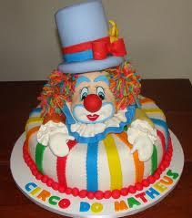 ideia bolo palhaço