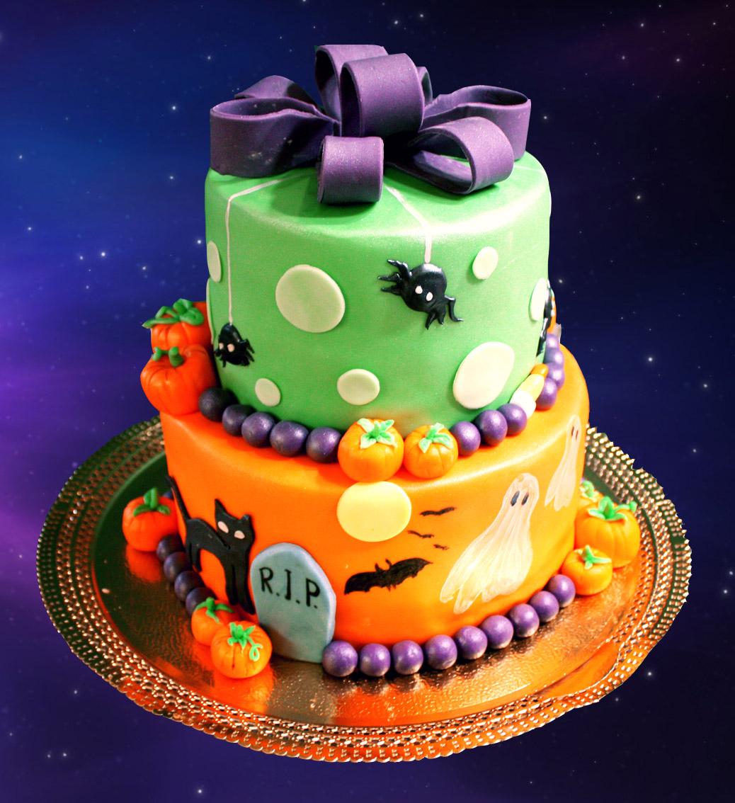 ideias bolo halloween