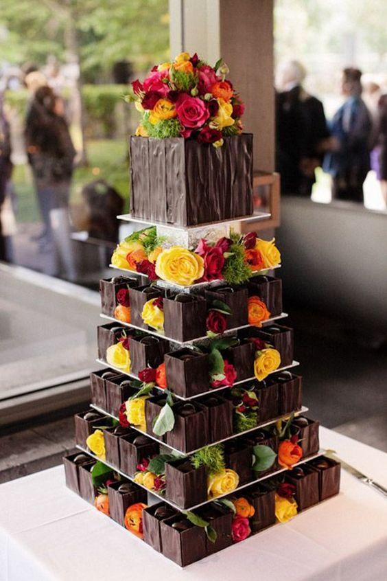 ideias bolos confeitados casamento