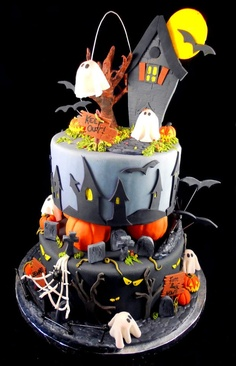 ideias bolos halloween