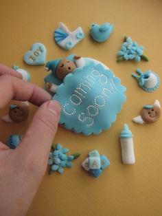ideias cupcakes cha de bebe