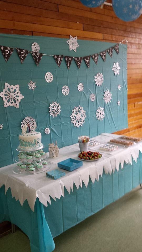 ideias decoraçao festa frozen