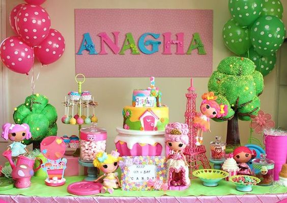 ideias decoracaçao festa lalaloopsy 1