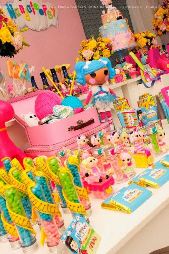 ideias decoracaçao festa lalaloopsy