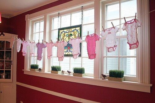 ideias decoracao cha bebe