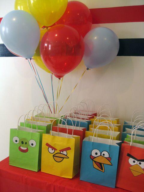 ideias decoracao festa angry birds 2