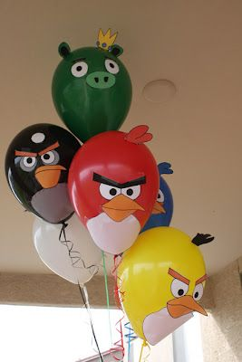 ideias decoracao festa angry birds 4