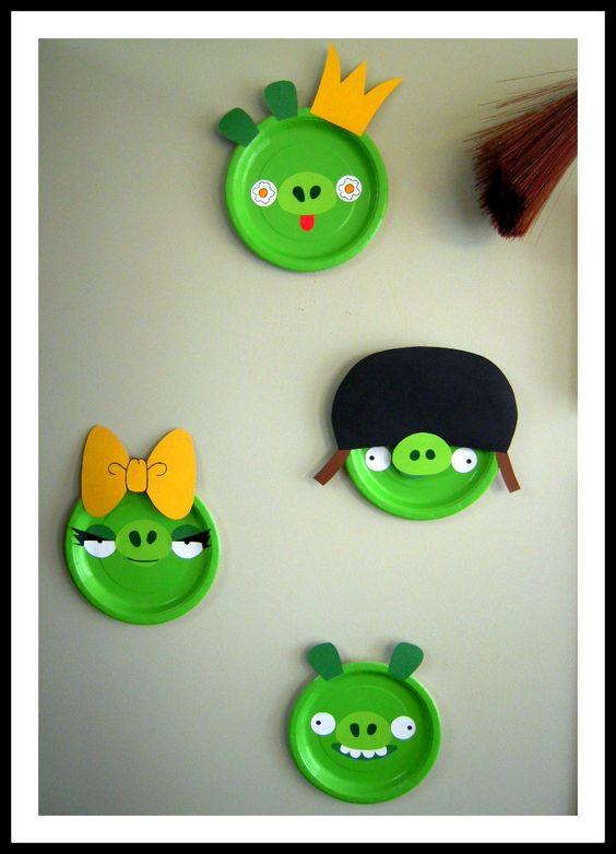 ideias decoracao festa angry birds 7
