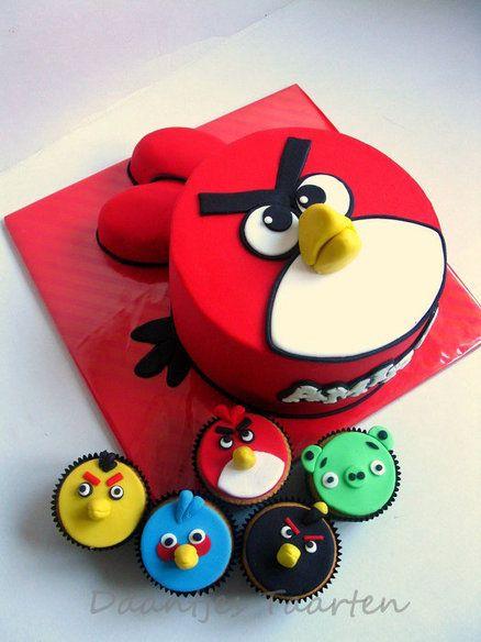 ideias decoracao festa angry birds 9