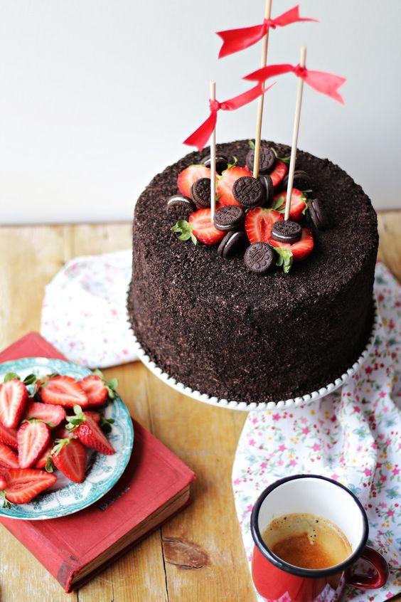 ideias decorar bolos feitos simples 1