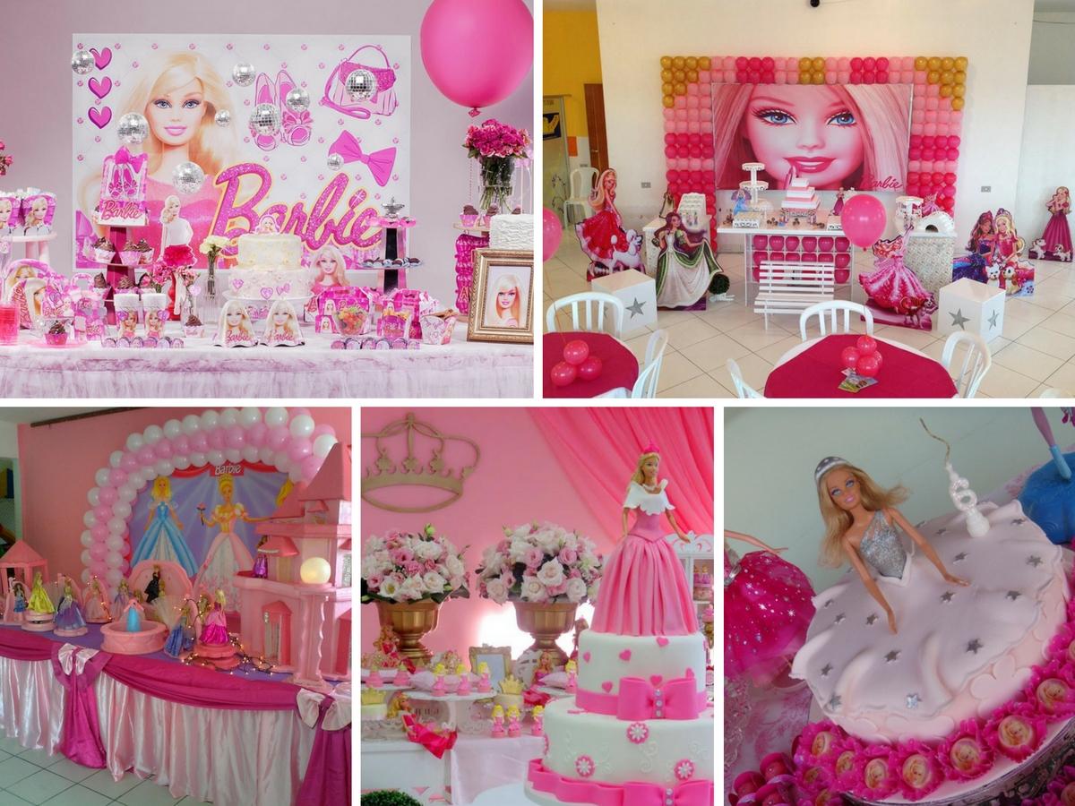 10 Ideias para Decorar Festa da Barbie