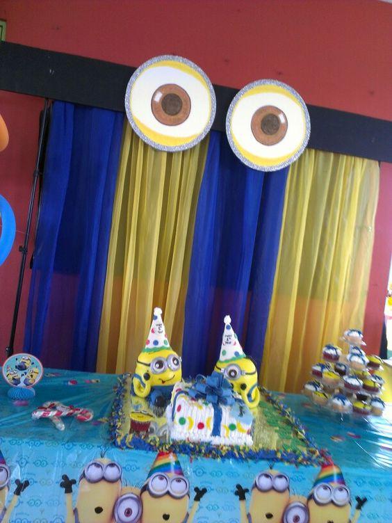ideias festa dos minions 3