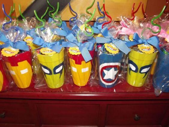 ideias festa menino super herois 1