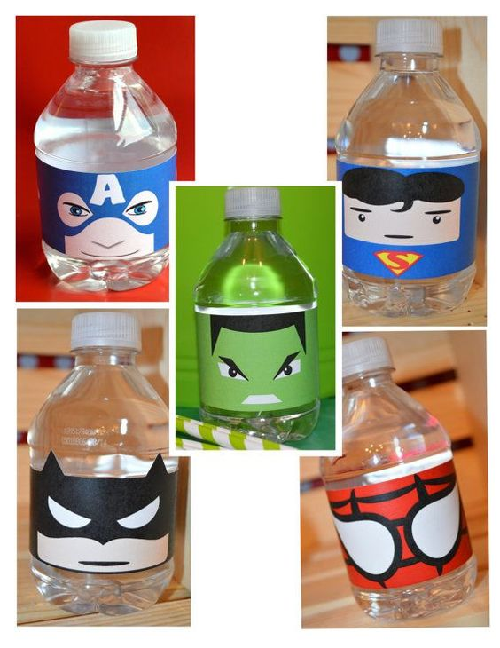 ideias festa menino super herois 4