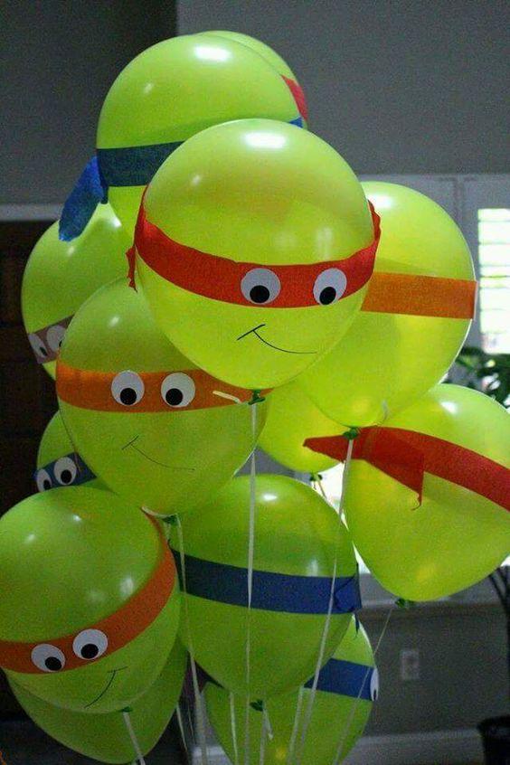 ideias festa tartarugas ninja 5
