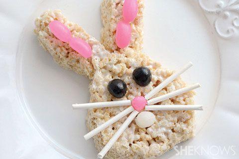 ideias flocos arroz páscoa ovos