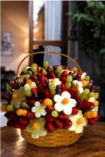ideias servir fruta casamento 2