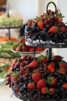ideias servir fruta casamento 6