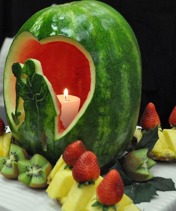ideias servir fruta casamento 8