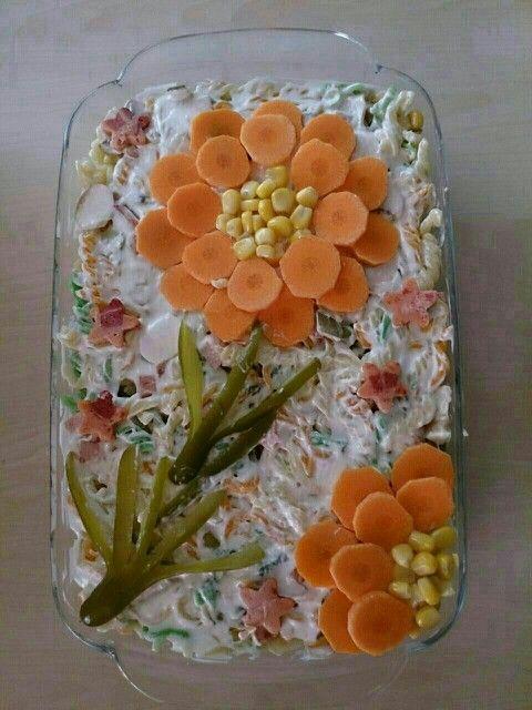ideias servir salada russa maionese 2