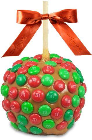 maças decoradas chocolate