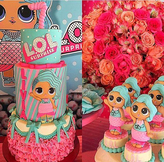 modelos bolos bonecas lol 12