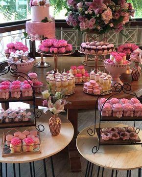 montar mesa doces adulto