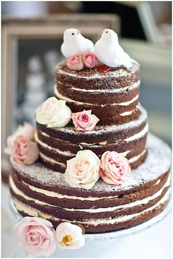 naked cake receita