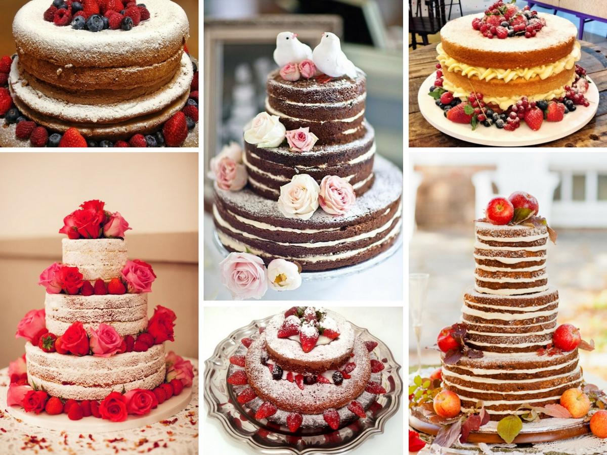 Receita e decoração de naked cakes