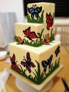 nolo com borboletas decorado