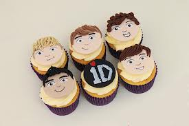 one direction cup cakes