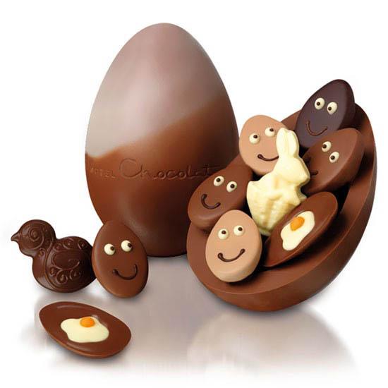 ovos chocolate pascoa