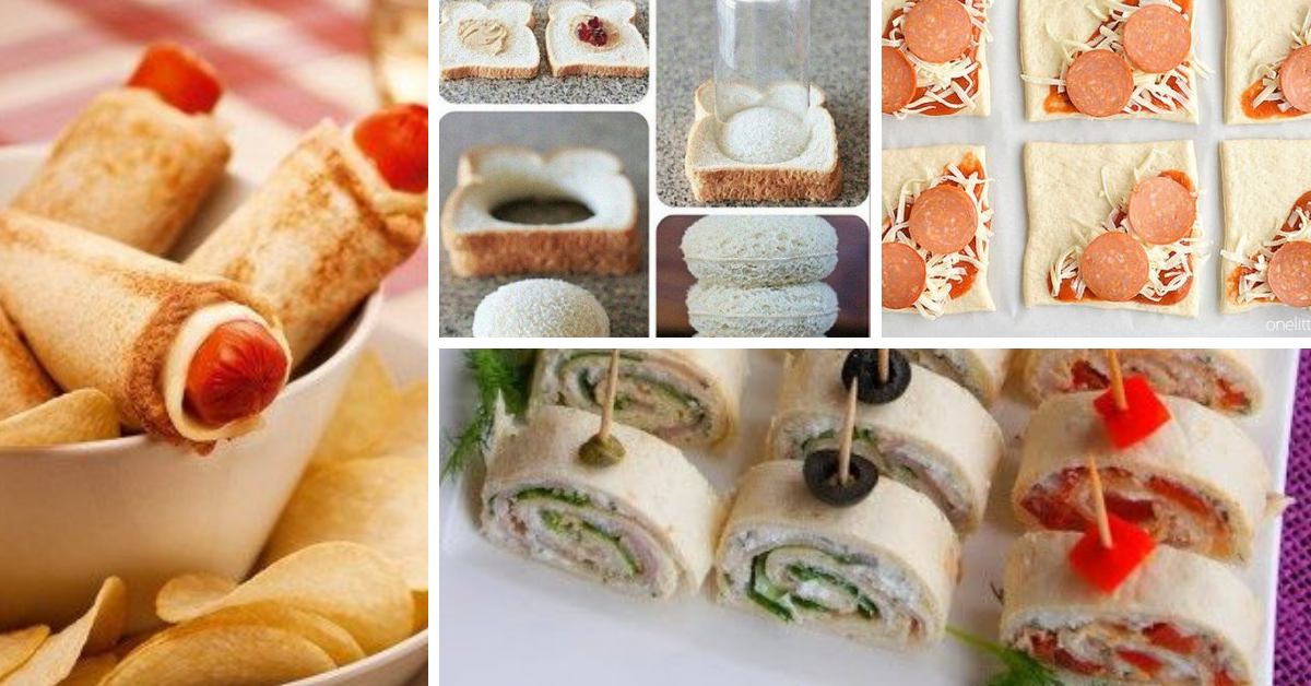 Ideias com Pão de Forma para Servir em Festas