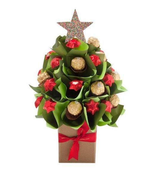 presentes natal comestivel arvore bombom