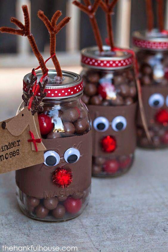 presentes natal comestivel chocolate rena