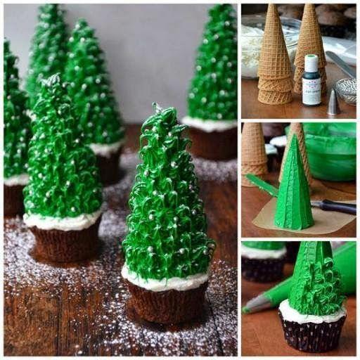 presentes natal comestivel cupcakes