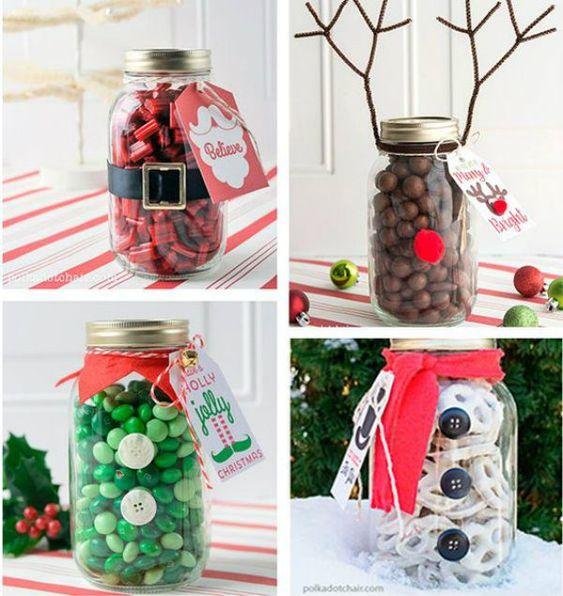 presentes natal comestivel frascos