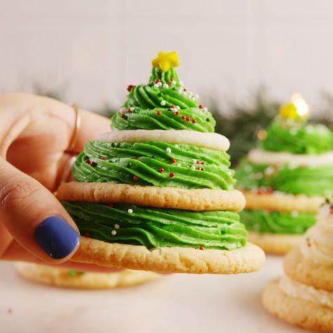 receita biscoitos natal arvore natal