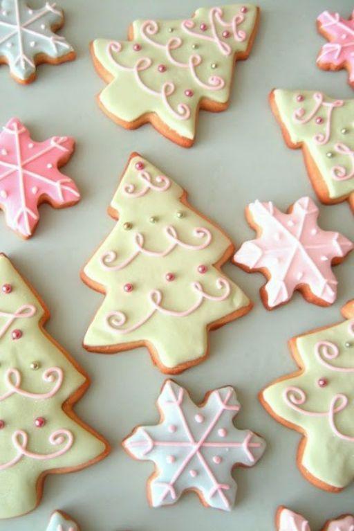 receita biscoitos natal arvore