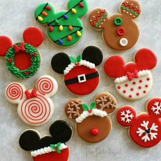 receita biscoitos natal minnie