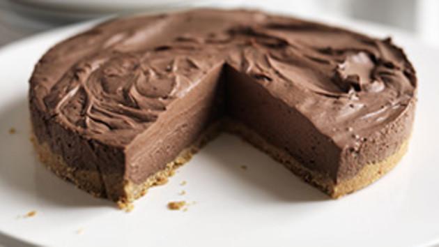 Receita de Cheesecake de Chocolate