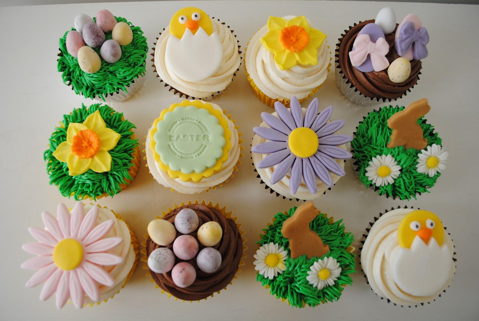 receita cupcakes pascoa