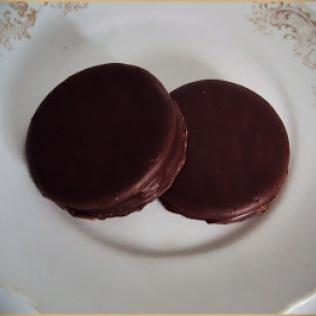 receita de Bolachas com Marshmallow e chocolate