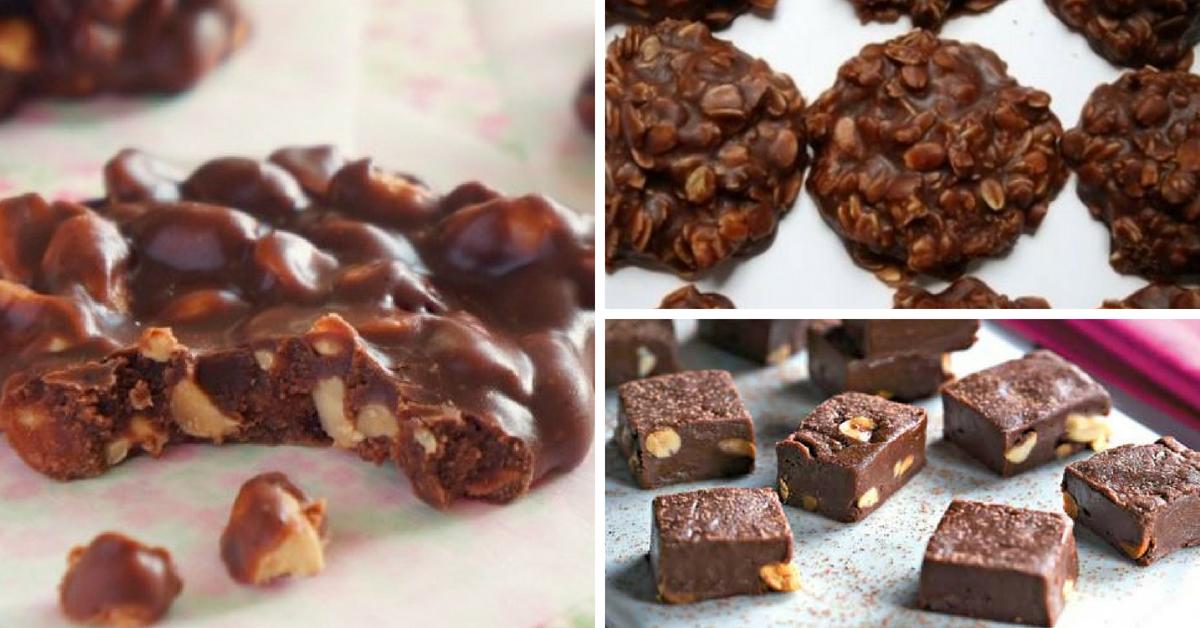 Receita Fácil de Pé de Moloque de Chocolate