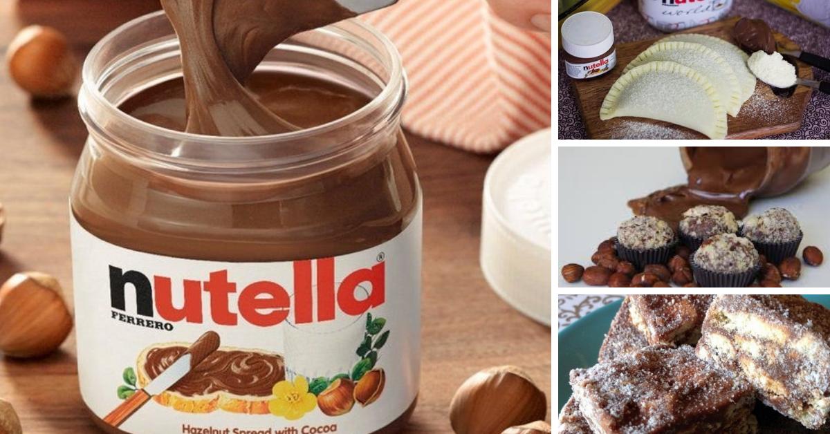 3 Receitas deliciosas e Simples com Nutella
