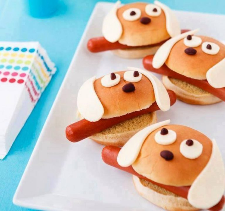 sanduiches divertidas festa infantil 1