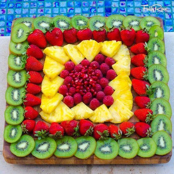 servir fruta casamento 3