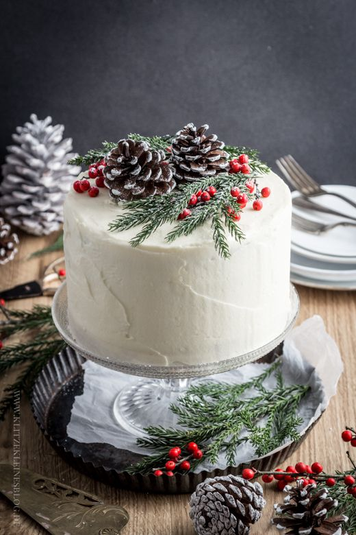 topo bolo natal diy pinhas