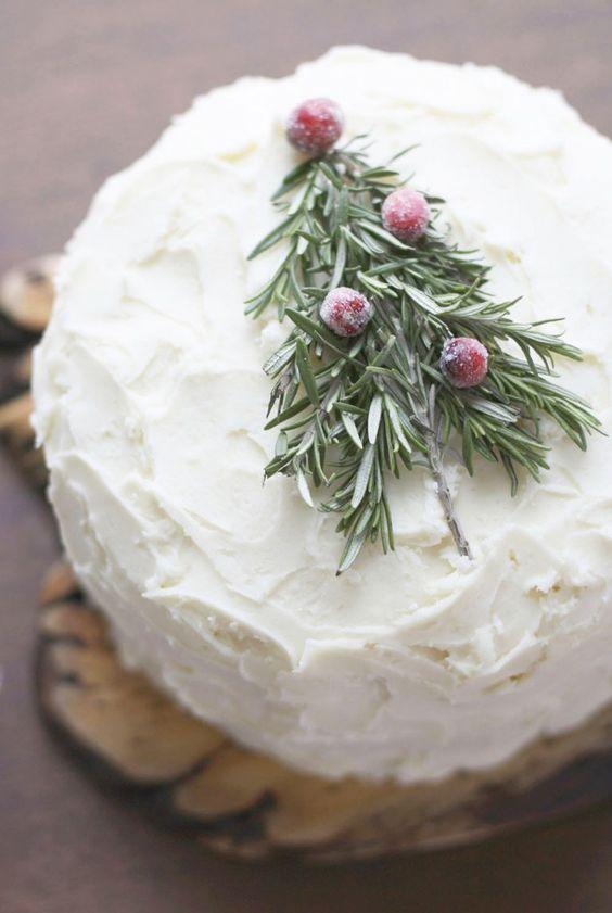 topo bolo natal diy simples